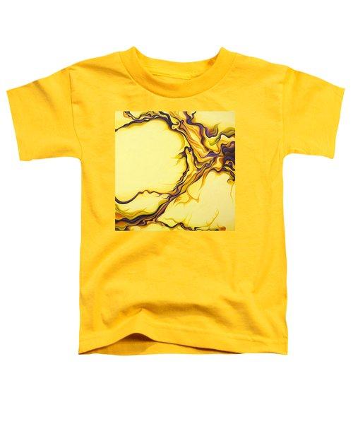 Yellow Flow Toddler T-Shirt