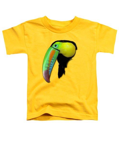 Yellow Toucan Toddler T-Shirt