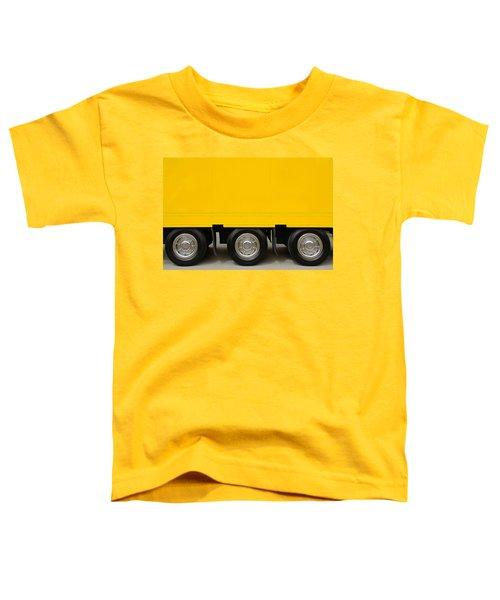 Yellow Truck Toddler T-Shirt