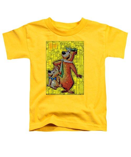 Yogi And Boo Boo Toddler T-Shirt