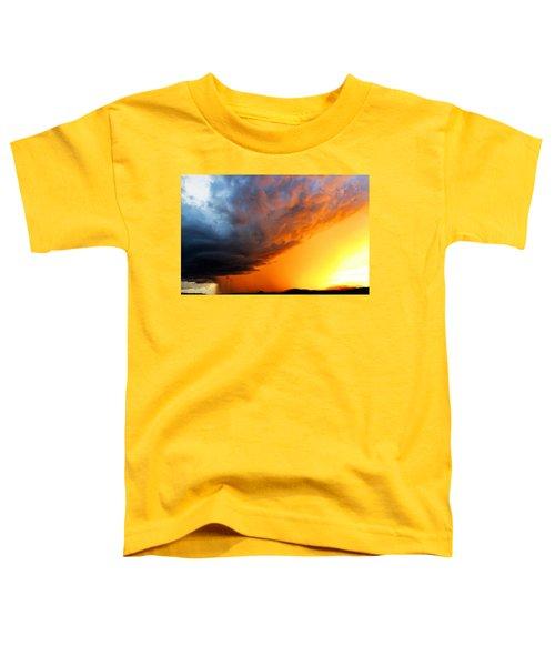 Sunset Storm Toddler T-Shirt