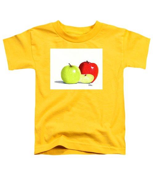 An Apple A Day Toddler T-Shirt
