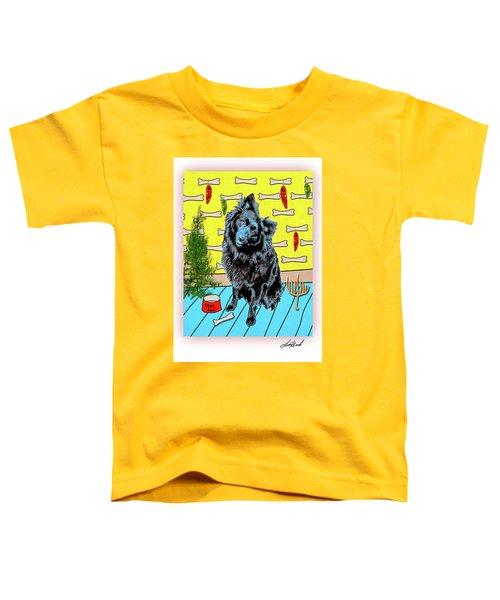 Bear Paw Holiday Toddler T-Shirt