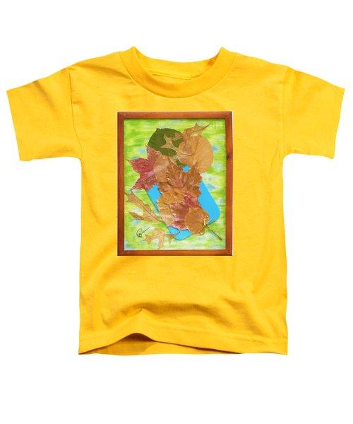 Bouquet From Fallen Leaves Toddler T-Shirt