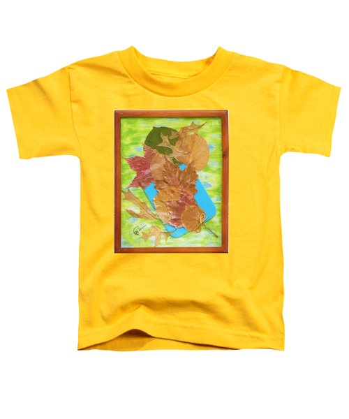 Bouquet From Fallen Leaves Toddler T-Shirt