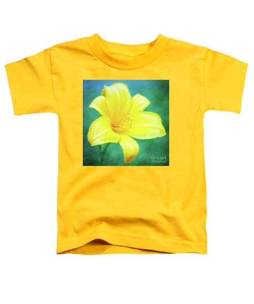 Buttered Popcorn Daylily In Her Glory Toddler T-Shirt