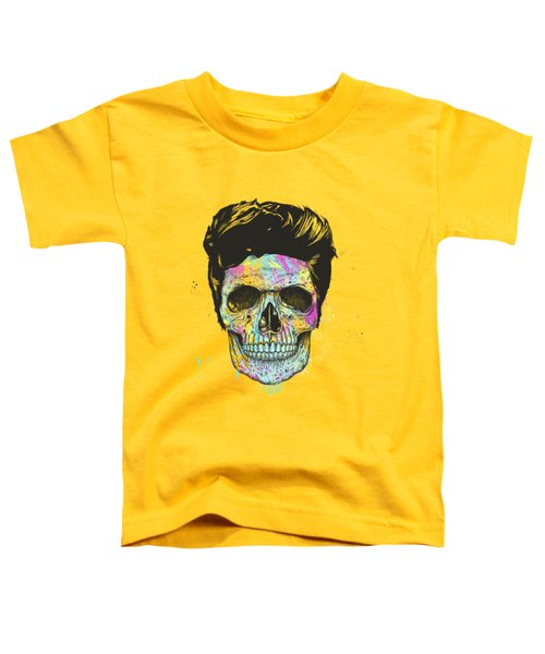 Color Your Skull Toddler T-Shirt