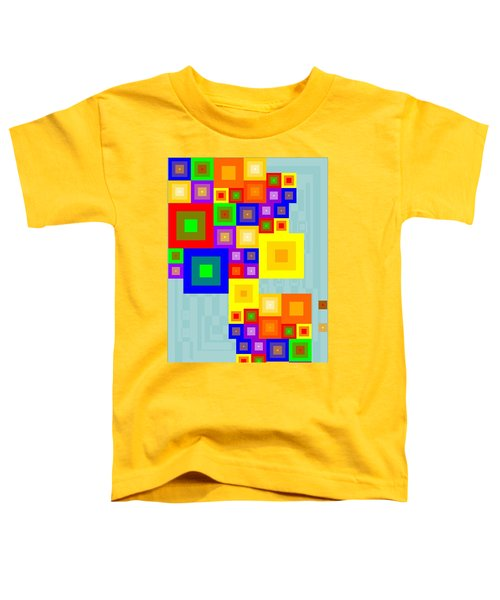 Colourful Cubism  Toddler T-Shirt