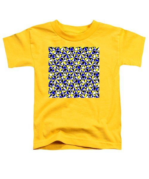 Crazy Psychedelic Art In Chaotic Visual Color And Shapes - Efg22 Toddler T-Shirt
