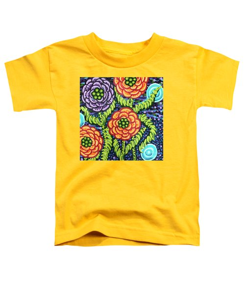 Floral Whimsy 5 Toddler T-Shirt