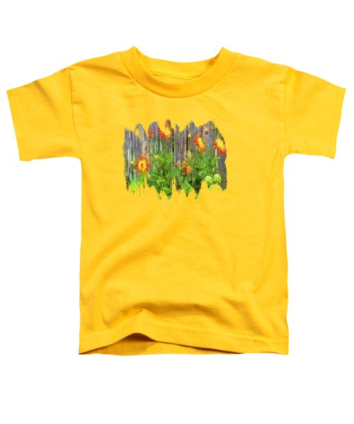 Flowers And Artichokes Toddler T-Shirt