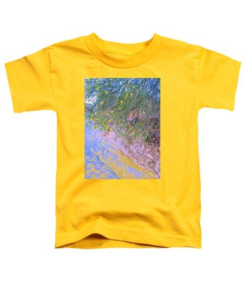 Golden Petals In A Desert Wash Toddler T-Shirt