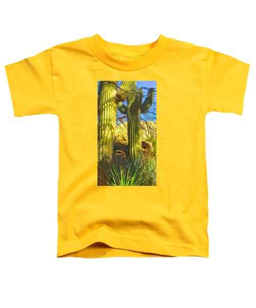 In The Shadow Of Saguaros Toddler T-Shirt