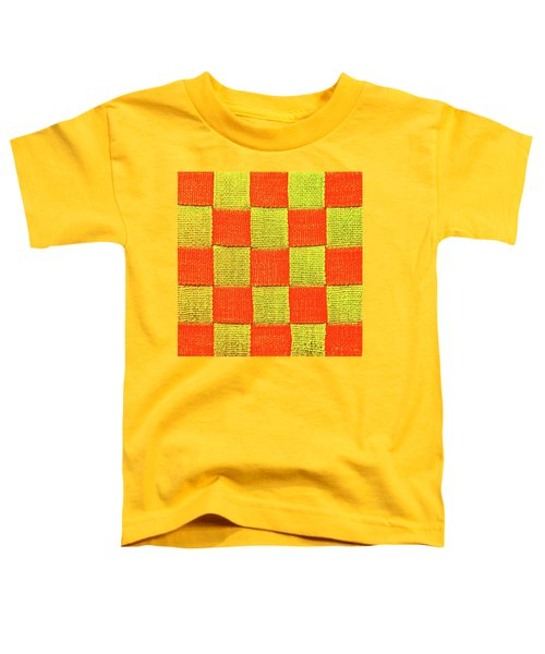 Interlaced Canvas Straps 1 Toddler T-Shirt