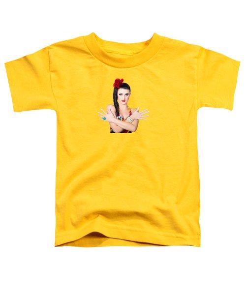 Mediterranean Woman Toddler T-Shirt