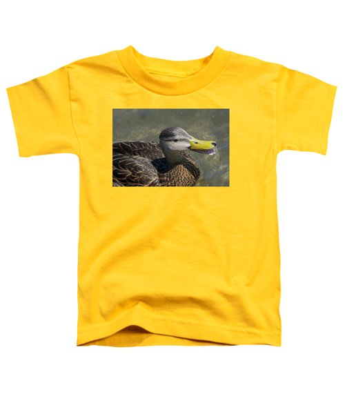 Mottled Duck Telling Me All About It Toddler T-Shirt