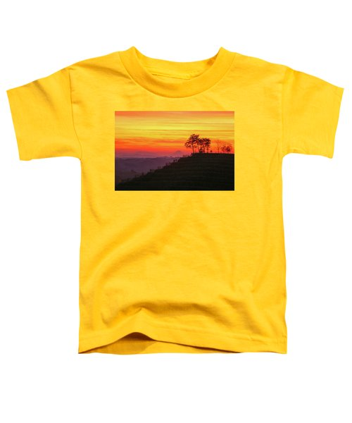 On The Viewpoint Toddler T-Shirt