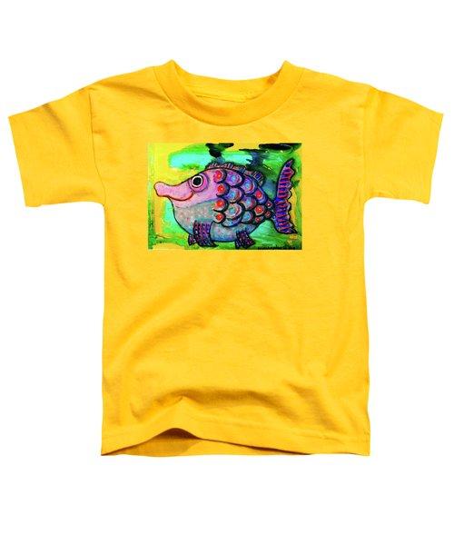 Oscar The Nosefish Toddler T-Shirt