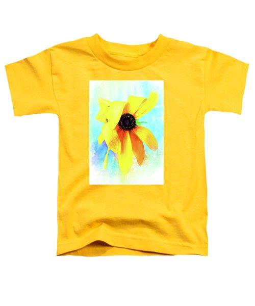 Flopsy - A Charming Wild Black-eyed Susan  Toddler T-Shirt