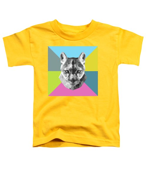 Party Mountain Lion Toddler T-Shirt