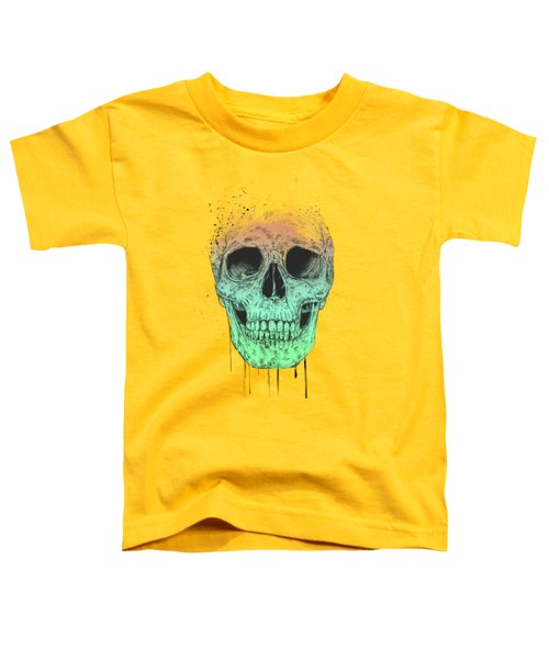 Pop Art Skull Toddler T-Shirt