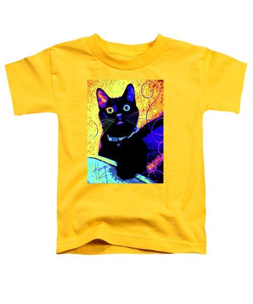 pOpCat Olive Toddler T-Shirt