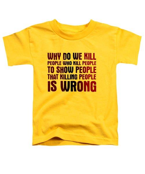 Showing People Toddler T-Shirt