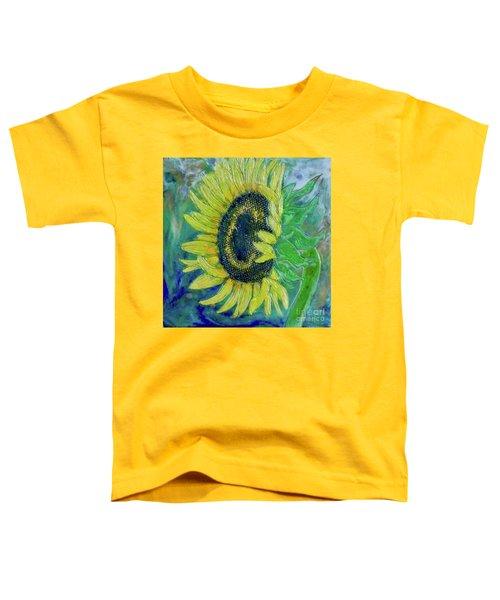 Sunflower Smiles Toddler T-Shirt