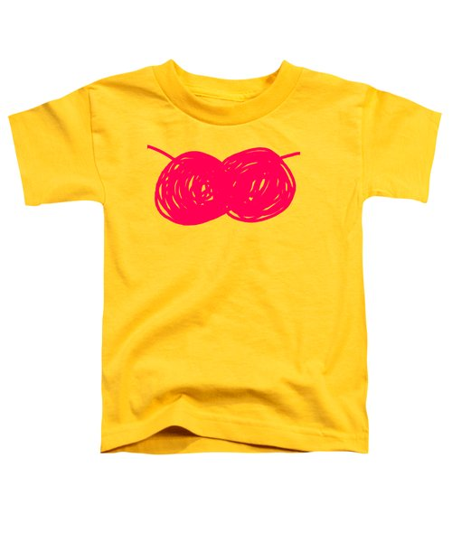 Two Red Cherries Toddler T-Shirt