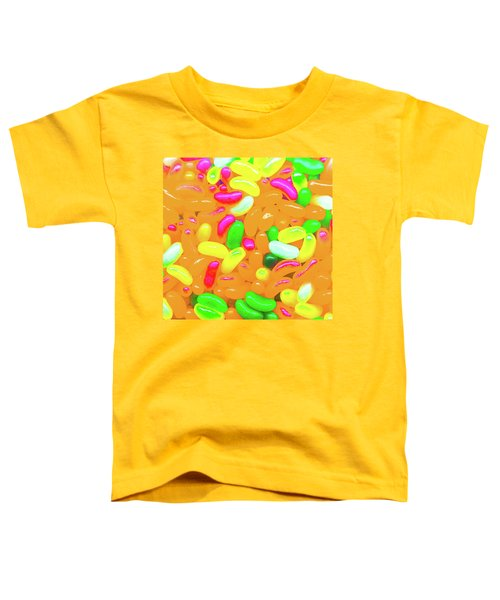 Vibrant Jelly Beans Toddler T-Shirt