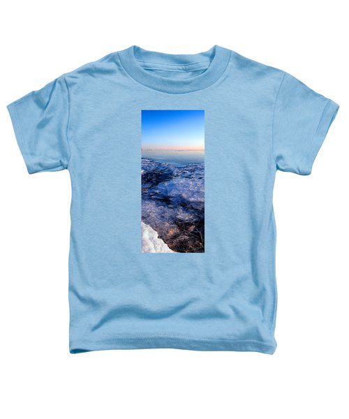 Toddler T-Shirt featuring the photograph  Superior Winter   by Doug Gibbons