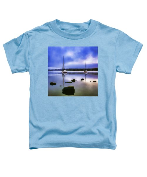 Boats On Ullswater Toddler T-Shirt