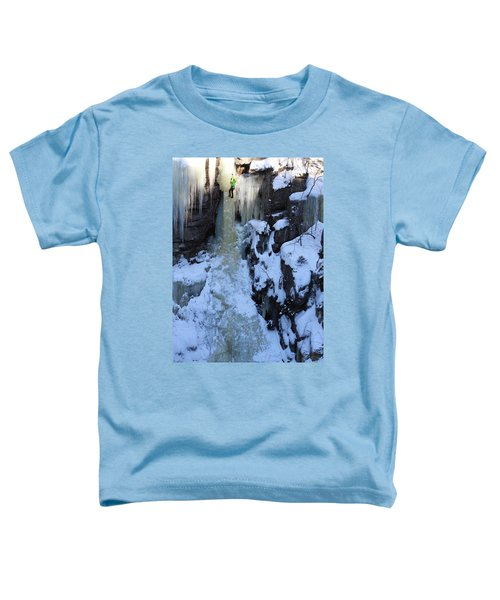 The Wintery Flume  Toddler T-Shirt