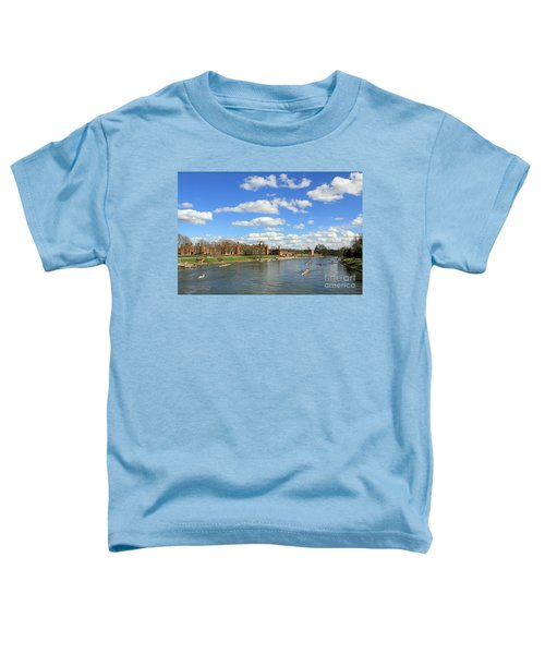 Rowing On The Thames At Hampton Court Toddler T-Shirt