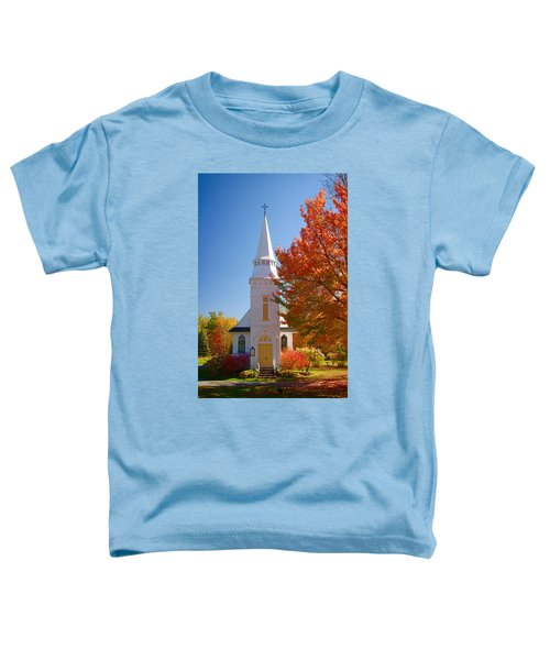 St Matthew's In Autumn Splendor Toddler T-Shirt