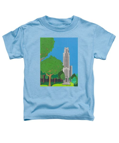 The Cathedral Of Learning Toddler T-Shirt