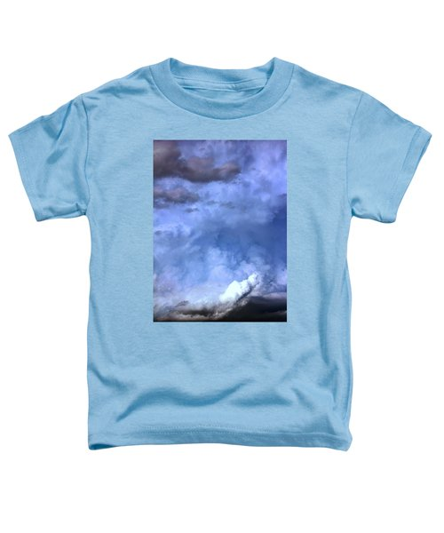 There Be A Storm A Brewin In Nebraska Toddler T-Shirt