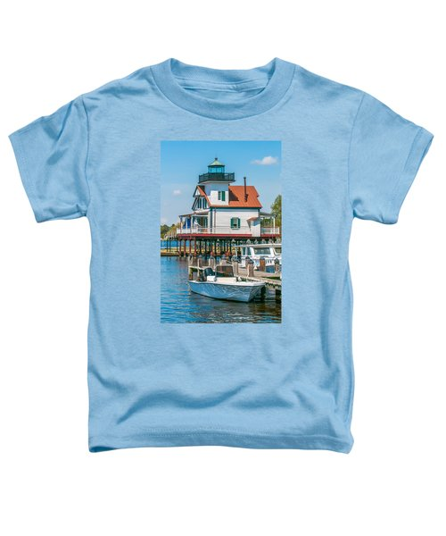 Town Of Edenton Roanoke River Lighthouse In Nc Toddler T-Shirt