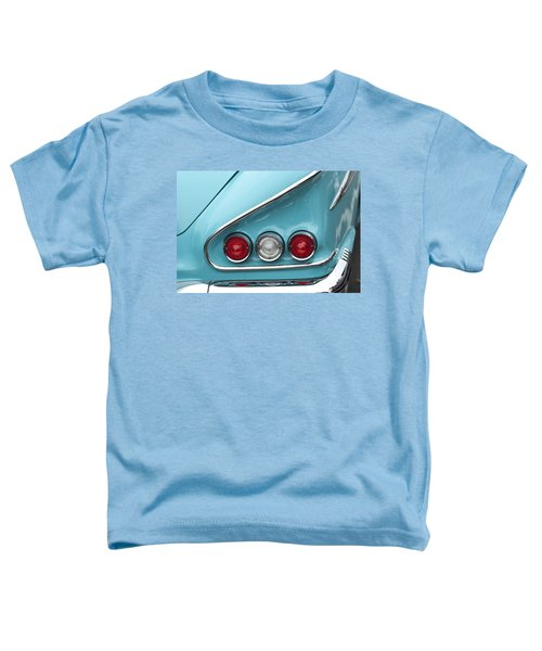 1958 Chevrolet Impala Taillights  Toddler T-Shirt