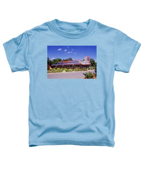 1990s Classic Art Deco Style Diner Hyde Toddler T-Shirt