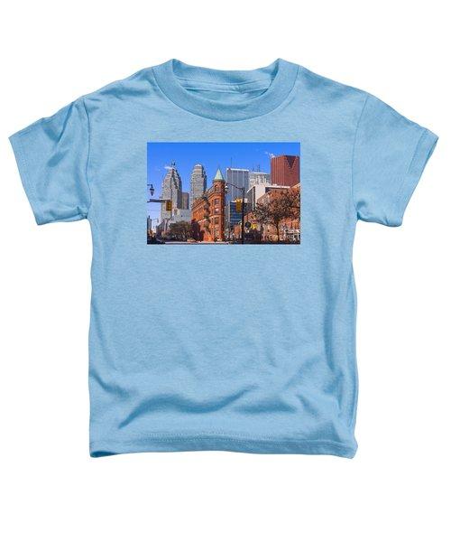 Flatiron Building In Toronto Toddler T-Shirt