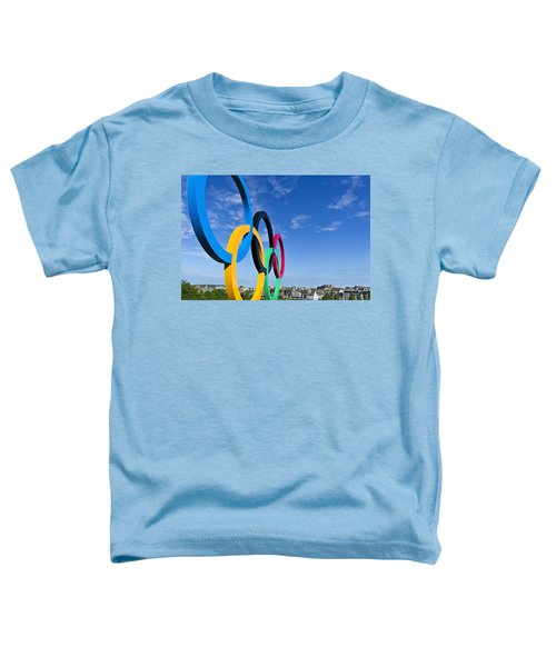 2012 Olympic Rings Over Edinburgh Toddler T-Shirt