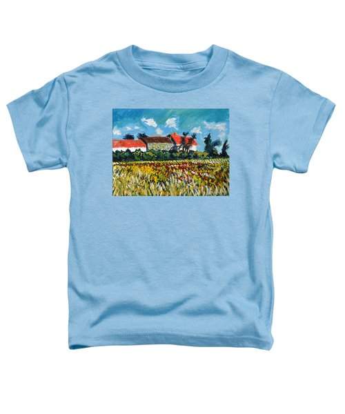 A Field In France Toddler T-Shirt