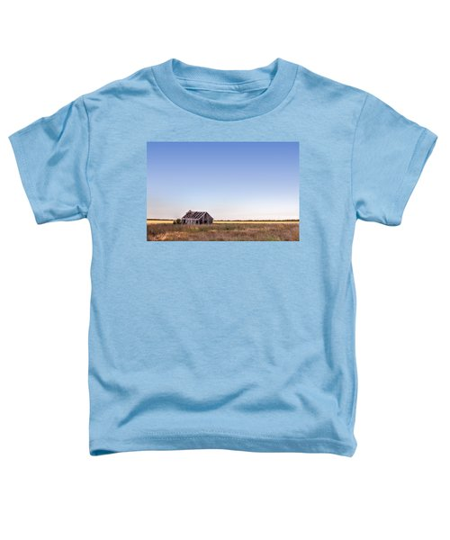 Abandoned Farmhouse In A Field Toddler T-Shirt