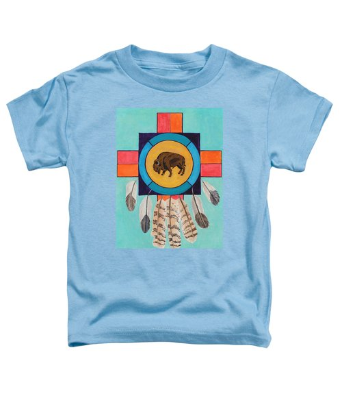 American Bison Dreamcatcher Toddler T-Shirt