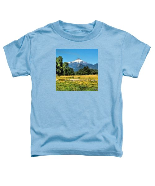 Another Sunny Day In Villarrica..with Toddler T-Shirt
