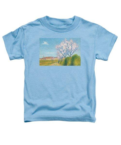 Arbes En Fleurs A L'entree De Cailhavel Toddler T-Shirt