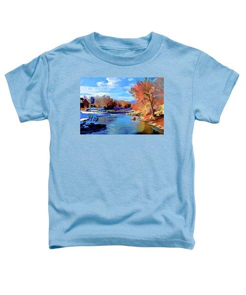 Arkansas River In Salida Co Toddler T-Shirt
