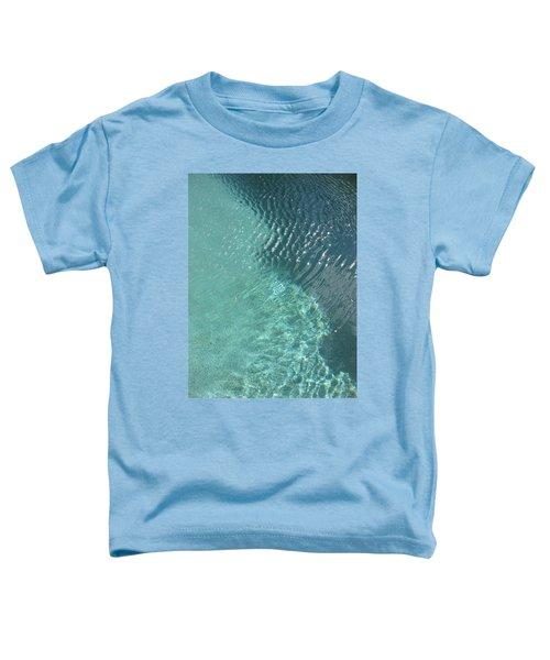 Art Homage David Hockney Swimming Pool Arizona City Arizona 2005 Toddler T-Shirt