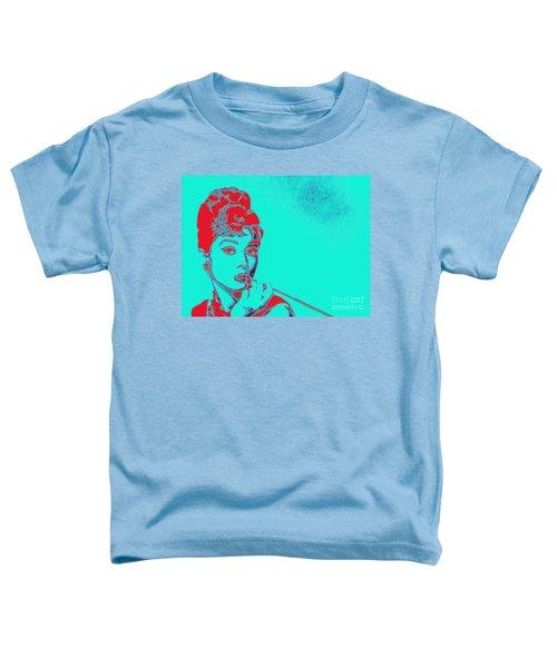 Audrey Hepburn 20130330v2p128 Toddler T-Shirt